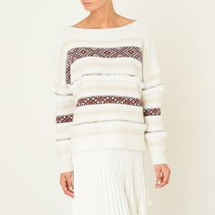 """Pullover """"Ejaz"""" MES DEMOISELLES Pulls, Men Sweater, Pullover, Boutique, Sweaters, Dresses, Fashion, Mes Demoiselles, Sweater Dress Outfit"""