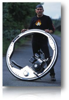 this monowheel motorcycle manufacturing is crazy