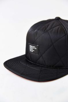 2c57f470486 Stussy Quilted Foam Snapback Hat