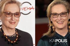 Η #Meryl #Streep επιλέγει #LINDBERG acetanium για τις εμφανίσεις της. #KapolisOptics