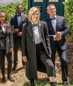 Shop Doctor Who Season 12 Jodie Whittaker Black Long The Doctor Coat in Soft Fabric. Doctor Who Shop, Doctor Coat, First Doctor, Season 12, Soft Fabrics, Raincoat, Bad Wolf, Clothes For Women, Color