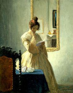 Frederick Simpson Coburn, The letter, 1905