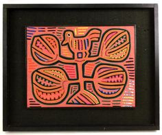 Panama Mola Textile Panel