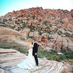 Red Rock Canyon Wedding | Calico Basin Wedding | Las Vegas Nevada