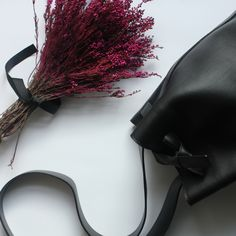 www.slavavarsovia.com #slava #bucket #black #leather #bag