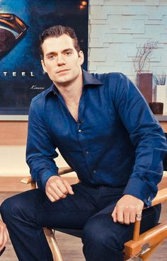 Henry Cavill - Good Morning America (june 10, 2013). Oh my…..Henry looking all kinds of handsome..