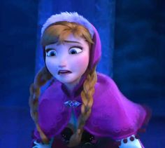 Oh no! She's so scared! She wants to help Elsa so badly, but then it's too late.