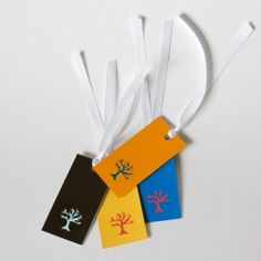 Paint chip gift tags! Also make great bookmarks to use as party favors.