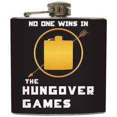 "Liquid Courage Flasks: ""The Hungover Games"" @Kelly Teske Goldsworthy N"