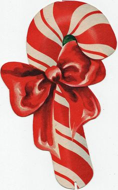 candy cane. Lots of beautiful vintage Christmas pictures to print!