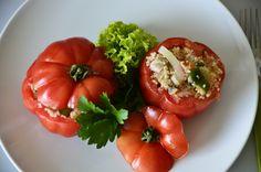 Stuffed Peppers, Vegetables, Food, Meal, Stuffed Pepper, Essen, Vegetable Recipes, Hoods, Meals