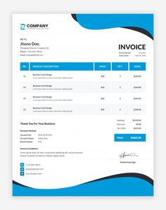 Invoice Format In Excel, Invoice Layout, Invoice Design Template, Web Design Software, Letterhead Design, Templates, Lawn Care Business, Accounting Jobs, Graphic Design Print