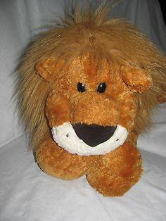 Gund Plush Lion Large Floppy Soft Stuffed Toy #4755 Leonardo HUGE