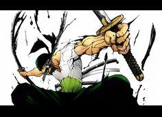 Anime One Piece  Zoro Roronoa Santoryu (One Piece) Fondo de Pantalla