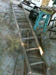 wood ladder - Craigslist Wood Ladder, Ideas, Wooden Ladder, Thoughts