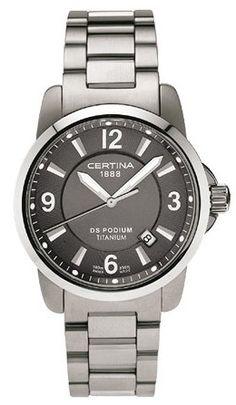 Certina DS Podium Titanium C260.7129.12.66