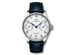 IWC Portuguese Automatic Steel on S from Browns Family Jewellers Iwc Watches, Watches For Men, Iwc Chronograph, Iwc Pilot, Best Watch Brands, Online Watch Store, Luxury Watches, Jewelry Watches, Fashion Accessories