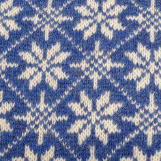 Gant Sale Items Gant Jacquard Snowflake Jumper Blue @ Mens Designer Clothes Online