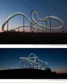 Tiger & Turtle - Magic Mountain by Heike Mutter & Ulrich Genth
