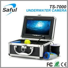 (135.59$)  Watch more here - http://aia5p.worlditems.win/all/product.php?id=32425453791 - 7 inch TFT color monitor with sun-visor Underwater fishing camera 15m cable HD 800TVL Professional Fish Finder Equipment Kit