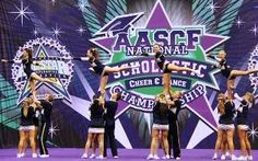 Bond University cheerleaders have danced and flipped their way to the USA after winning a World Bid at the Australian All Star Cheerleading Federation (AASCF) National Scholastic Cheer and Dance Championships.