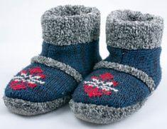 Filzschuhe - Strickanleitung mit Größentabelle Knitting Socks, Knit Socks, Ugg Boots, Uggs, Baby Shoes, Slippers, Diy Crafts, Crochet, Handmade
