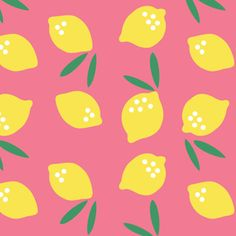 Made by Rae - Small World Corduroy - Lemon Drop in Pink Lemonade