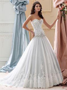 David Tutera - Ocean - 115228 - All Dressed Up, Bridal Gown