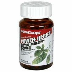 Twinlab Nature's Herbs Power-Herbs Bitter Melon-Power, 60 Capsules (Pack of 3) by Twinlab. $28.71. Pack of three, 60-capsules per unit (total of 180 counts). Highest quality, most potent and most effective form of Bitter Melon extract. Contains 150 mg extract per capsule. Herbal supplement. Herbal supplement. 150 mg Extract per capsule. 2.5% Bitter principles. Certified Potency Bitter Melon-Power is the highest quality, most potent and most effective form of Bitter Mel...