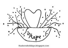Hudson's Holidays - Designer Shirley Hudson: Hope....freebie friday design: