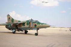 Libyan AF (post-Gaddafi) MiG-23UM