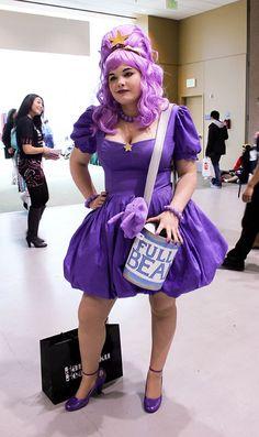 diy plus size lumpy space princess halloween costume idea