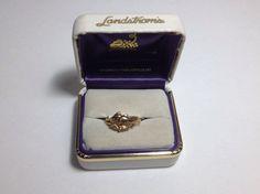 Landstrom s Black Hills Gold  Women s 10k petite Dolphin Ring