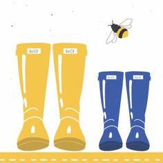 •M O R N I N G• It's definitely welly weather here today... what about you? • • • #hatch #littlehatchpatch #littleexplorer #wellies #wellingtons #hatchwellies #illustration #illustrator #fabricdesigner #fashiondesigner #childrensweardesigner #toddlerfashion #babyfashion #artwork #design #designedbyme #designer #outdoorsfamily #inspiredbythegreatoutdoors #greatoutdoors #outdoors #bees #weather #instashop #etsyshop #etsy #handmade #handmadewithlove #familyrun