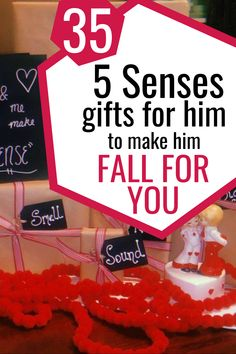 Creative and affordable five sense gift ideas that are not another mug or t-shirt. Show your boyfriend/ husband how much you love him with these gifts perfect for Christmas, Valentine's day or Anniversary