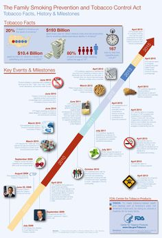 Infographic History Timeline Health and Fitness Infographics