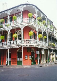 Bourbon Street, New Orleans. I would like to go here Oh The Places You'll Go, Places To Travel, Places Ive Been, Places To Visit, Travel Destinations, Dream Vacations, Vacation Spots, Wonderful Places, Beautiful Places
