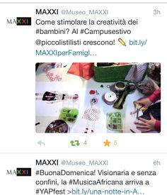 Invito meraviglioso al #Maxxi #museo #laboratoribambini #piccolistilisti #moda #cucitocreativo