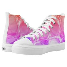 Marble Bubble High-Tops