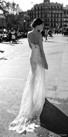 gali karten 2017 bridal long sleeves strapless sweetheart neckline full embellishment elegant sexy sheath wedding dress short train (8) bv -- Gali Karten 2017 Wedding Dresses