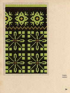 Tapestry Crochet Patterns, Fair Isle Knitting Patterns, Knitting Charts, Knitting Stitches, Knitted Mittens Pattern, Knit Mittens, Knitting Socks, Cross Stitch Designs, Cross Stitch Patterns
