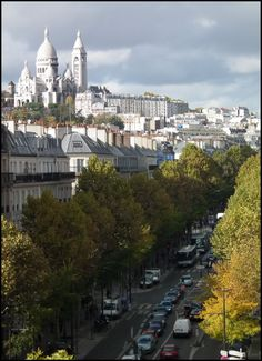 Nice and original view : Montmartre