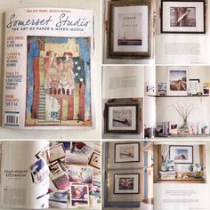I AM HONORED to be featured in Volume 21 Issue 2 of @stampington Somerset Studio - The Art of Paper & Mixed Media. This 4 page article carries the beautiful photography of @kateslewis + the creative process of my hand-stamped collection of mixed media art using affirmations + my photography all taken on my adventures using my iPhone. When this arrived in the mail I did a small dance barefoot in my studio ! If you are a maker - artist - crafter submit your work to the variety of different…