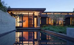 Courtyard Residence by Aidlin Darling Design