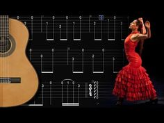 TUTO - EASY MALAGUEÑA - Tab + Exercices - FINGERSTYLE FLAMENCO GUITAR - YouTube