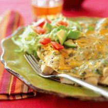 Sour Cream Chicken Enchiladas: Chicken Enchiladas