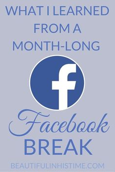 What I learned from a month-long Facebook break - how a social media fast changed my life