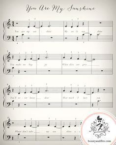 Lullaby Sheet Music Prints - great idea to frame this is a baby shower gift