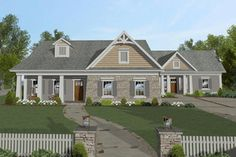 Southern Living Lake House Plans Awesome Home Plans with In Law Suites or Guest Rooms – modern courtyard house plans Modern Courtyard, Courtyard House Plans, Lake House Plans, Ranch House Plans, Small House Plans, Southern House Plans, Country House Plans, Southern Living, Monster House Plans