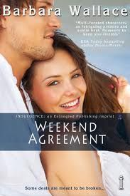 """""""Weekend Agreement"""" : I loved the banters between the 2 main characters in this book!   STATUS: Read"""